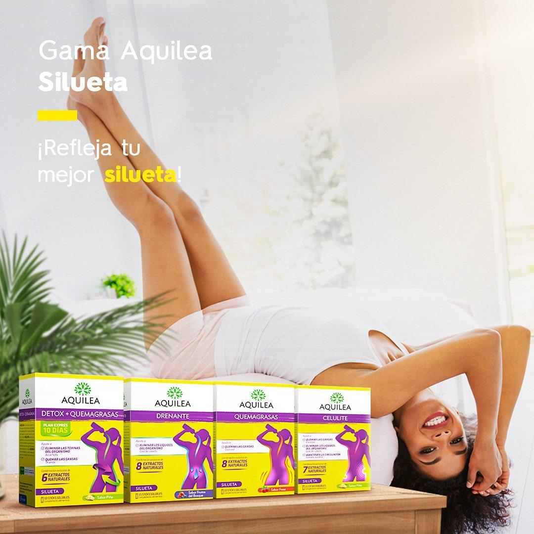 Nuestra gama Aquilea silueta ayuda a cuidarte por dentro y por fuera. 🍎 Para que te sea más fácil eliminar todo aquello que tu cuerpo no necesita