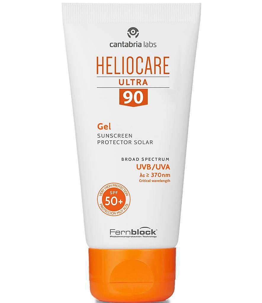 HELIOCARE Ultra 90 Gel SPF 50+ Gel fotoprotector para la exposición solar intensa. Protección muy alta formulada con Fernblock®