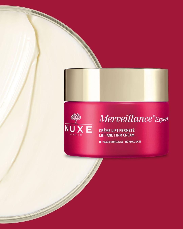 ❤️TRUCO DE BELLEZA NUXE❤️: Aplica la Crema lift-firmeza de #MerveillanceExpert por la mañana sobre el rostro, cuello y escote, preferiblemente después del sérum Lift-Tensor Merveillance® Expert.