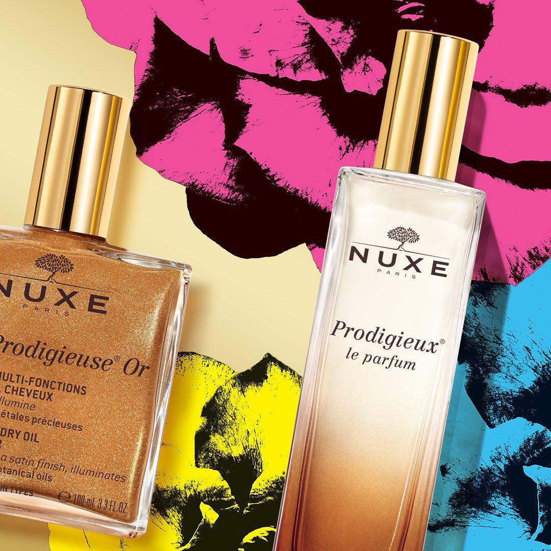 Envuélvete con el sofisticado encanto de Prodigieux® le parfum, un cálido aroma sensual y femenino, que junto con Huile Prodigieuse® Or hará que te sientas como la estrella de la Navidad✨ #NuxeMoments