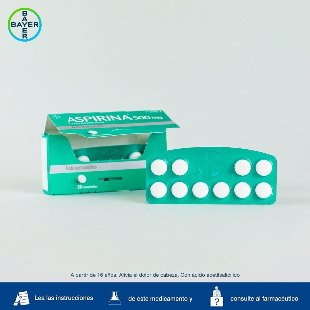 Aspirina lleva más de 120 años como uno de los medicamentos que no puede faltar en el botiquín de casa
