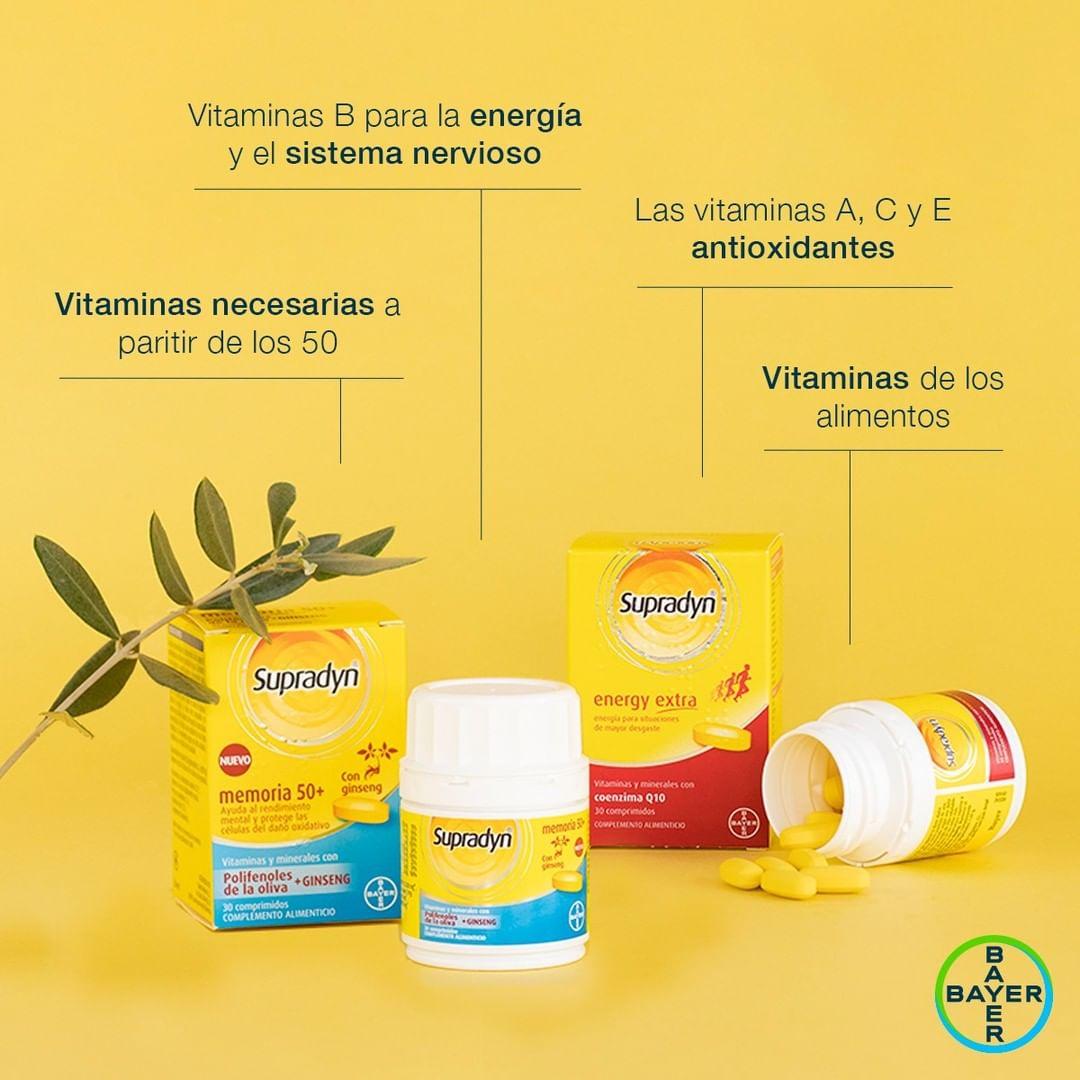 Descubre en Gran Farmacia Andorra las vitaminas necesarias a partir de los 50 años