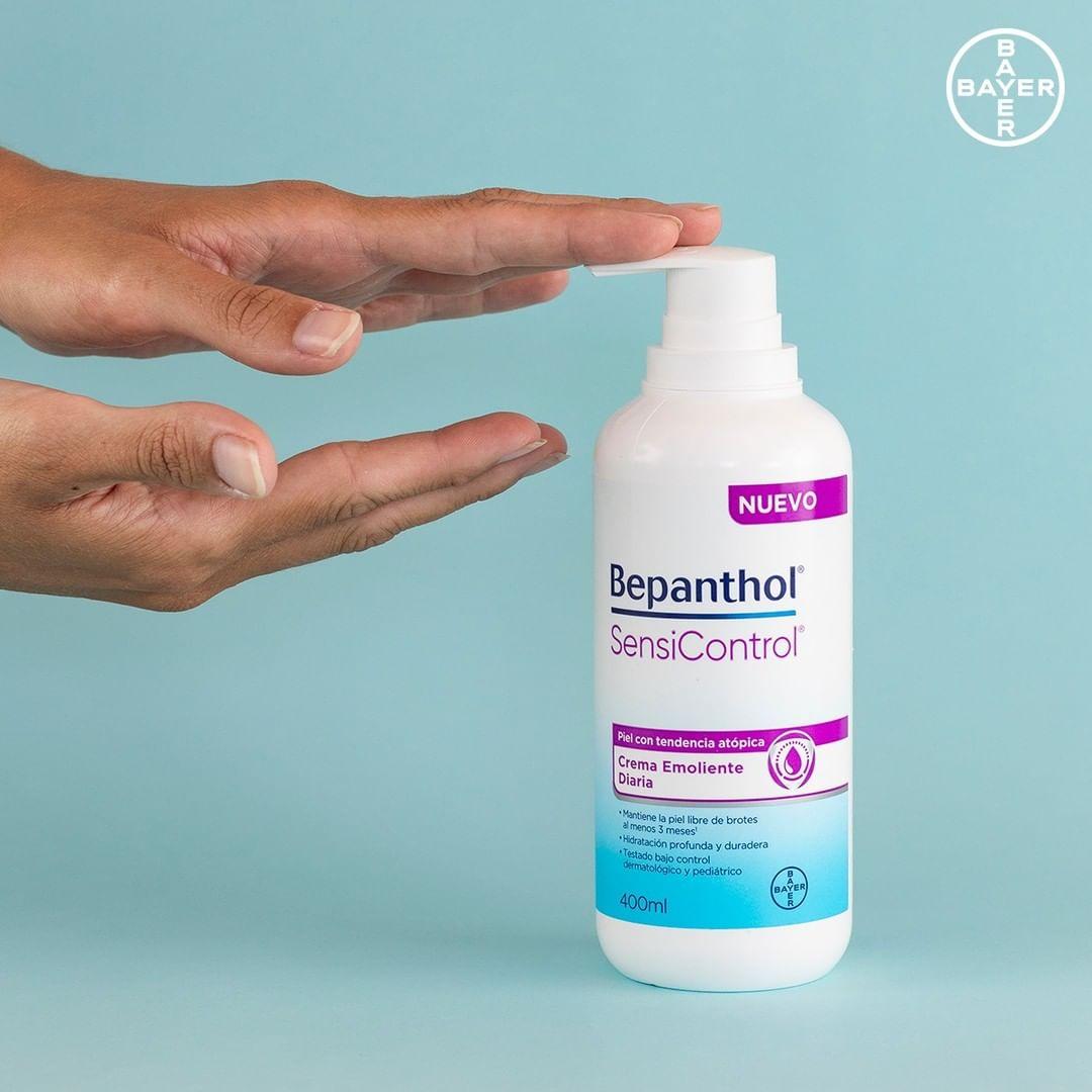 Bepanthol SensiControl®refuerza la barrera cutánea para ayudar a mantener una piel sana y protegida