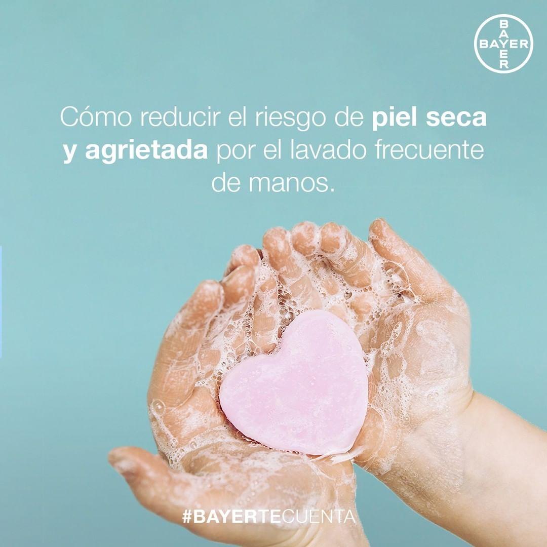 Cuida tu piel con Bepanthol® El uso de la mascarilla y el lavado frecuente de las manos ha provocado que aumenten los problemas cutáneos relacionados con la piel