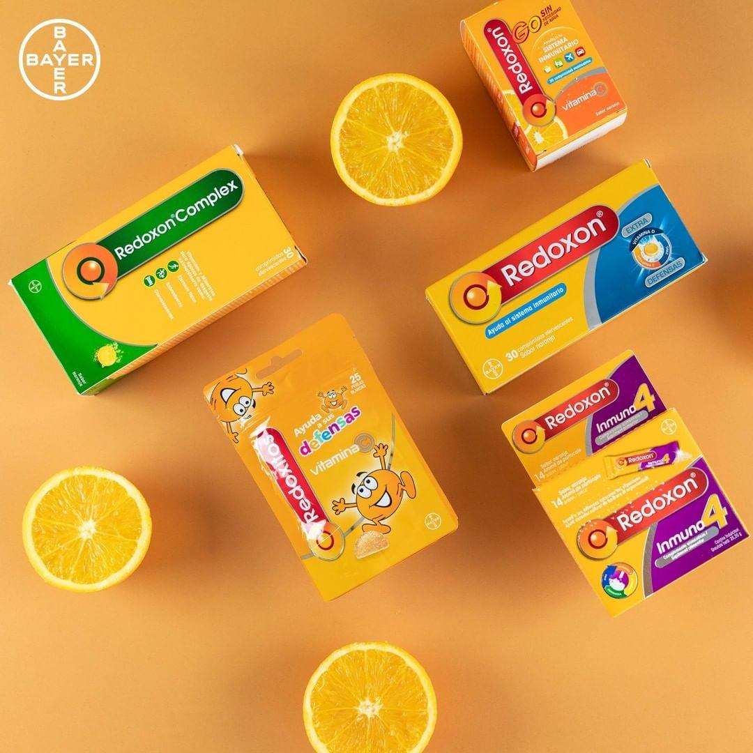 Conoces toda la gama Redoxon ® Complementos nutricionales a base de vitaminas y minerales para el sistema inmunitario